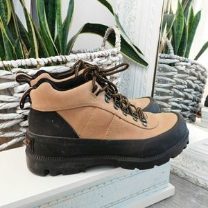 """WOMENS SPORTO """"LORENA"""" LEATHER LACE UP ANKLE BOOTS"""